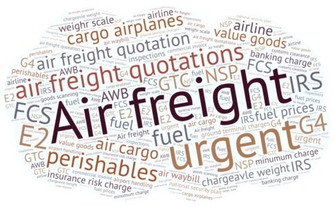 Air Freight Quote Examples
